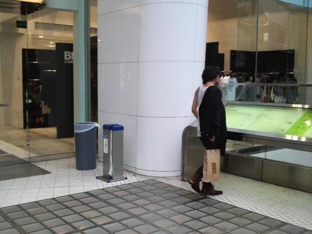 ブラック・コムデギャルソン@<br />  渋谷パルコ